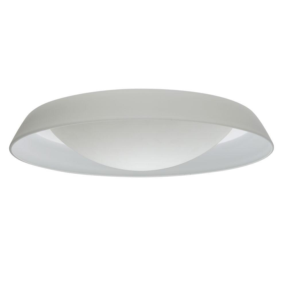Illumine 2-Light Ceiling Mount Fixture White Glass-DISCONTINUED
