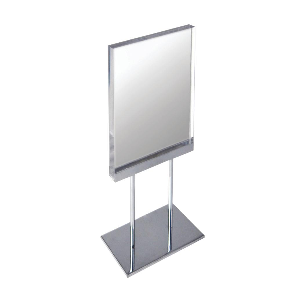 Elite Series 8.5 in. x 11 in. Acrylic Block Sign Holder