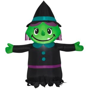 Pre-Lit Halloween Inflatables On Sale from $7.49 Deals