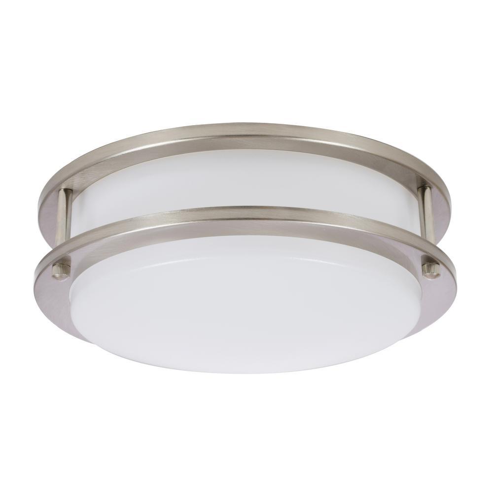Sylvania 75-Watt Equivalent 10 in. Integrated LED Ceiling Flush Mount