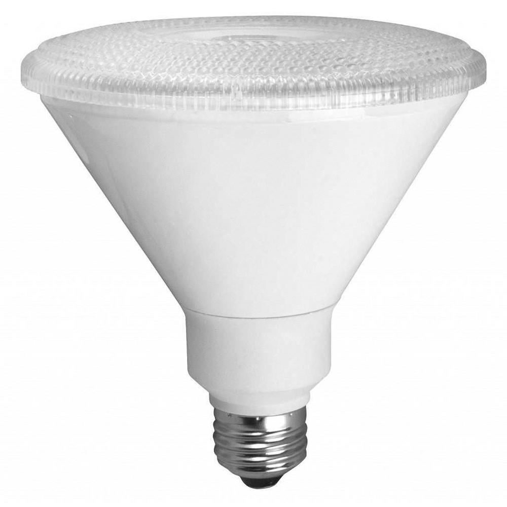 TCP 90W Equivalent Warm White Par38 Non Dimmable LED Spot Light ...