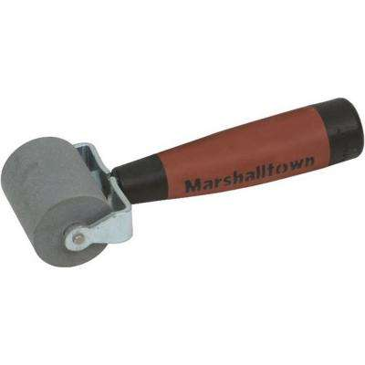 2 in. Flat Solid Rubber Seam Roller-DuraSoft Handle