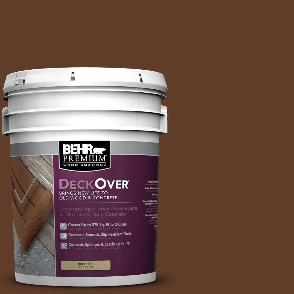 BEHR Premium DeckOver 5 gal. #SC-135 Sable Wood and Concrete Coating