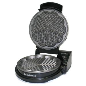 Chef'sChoice WafflePro Five of Hearts Waffle Maker by