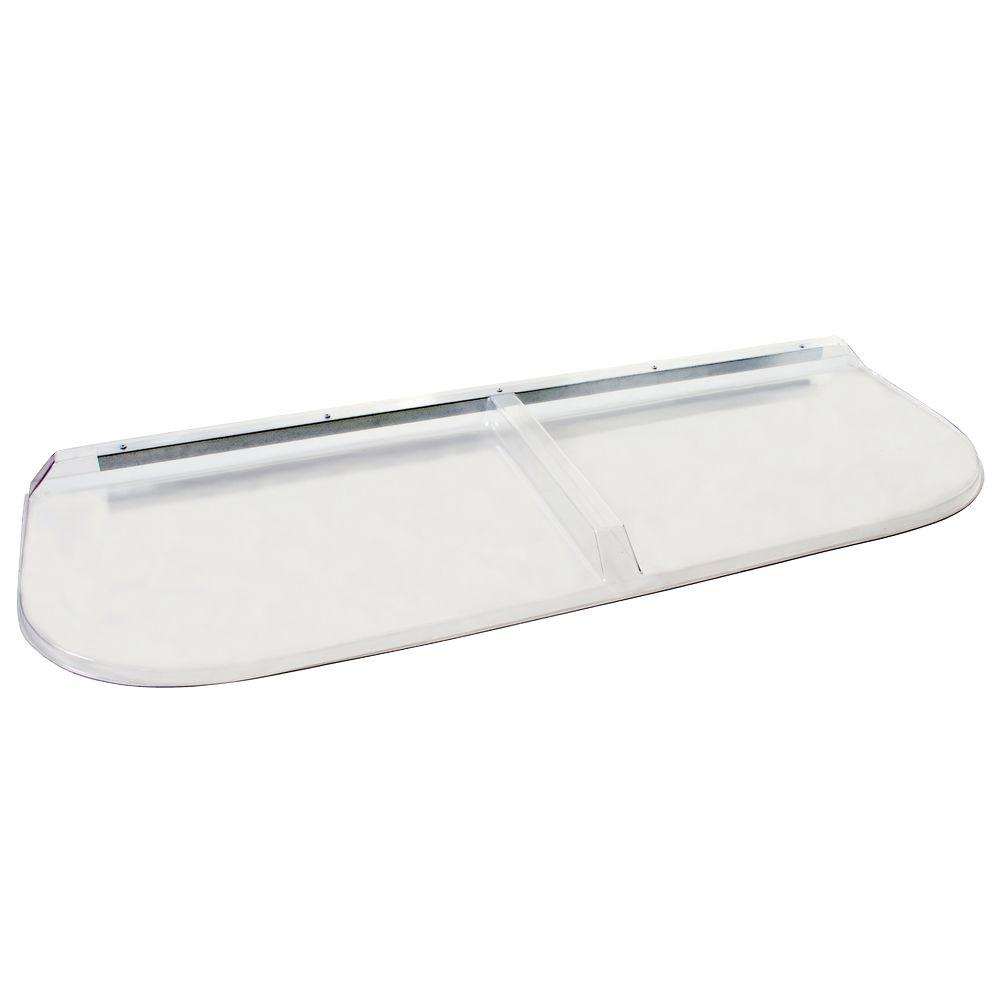 Shape Products 57 in. x 20 in. Polycarbonate Elongated Window Well Cover