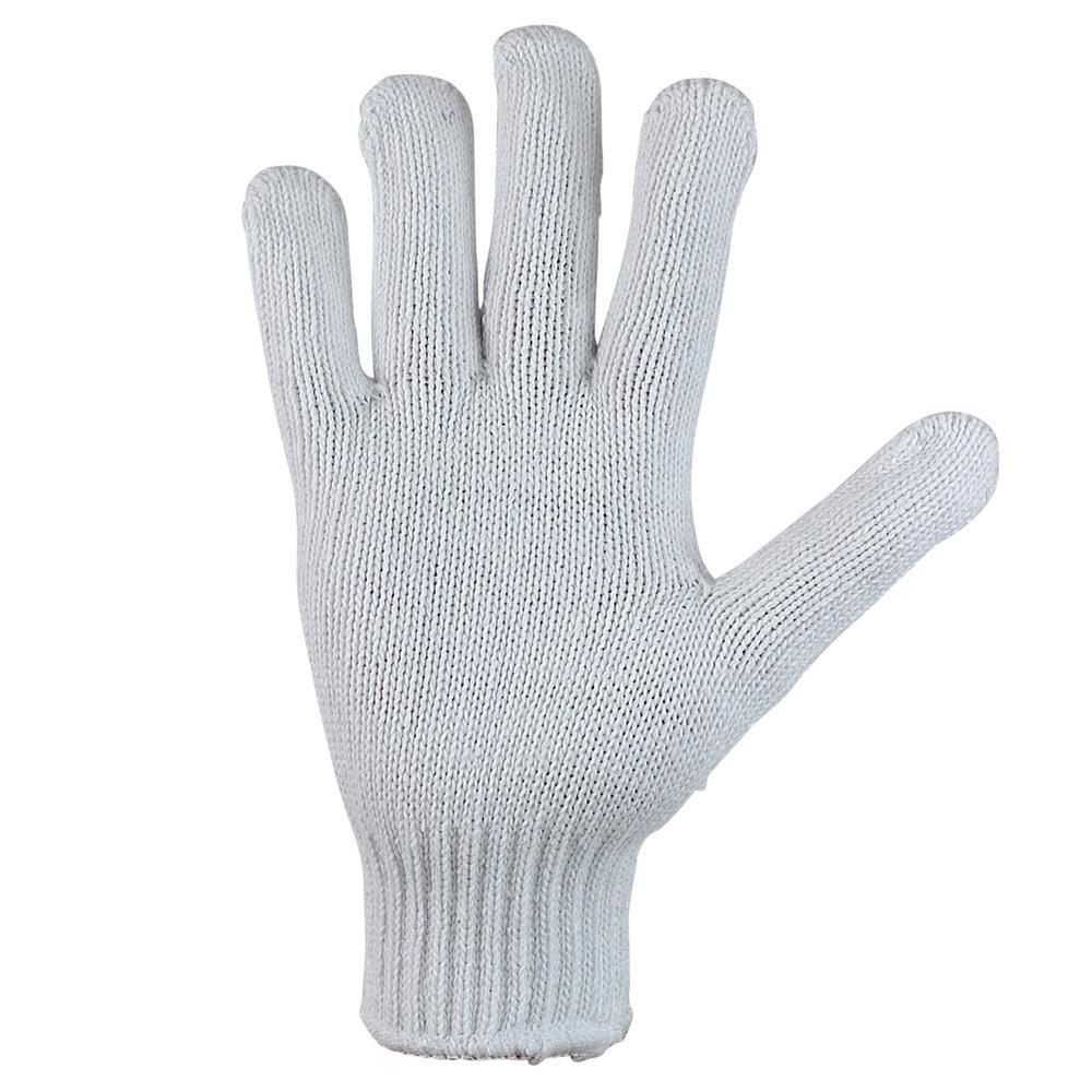 Heavy-Weight 7-Gauge Knit Gloves (6-Pair)