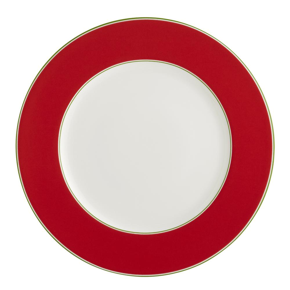 Auratic Color Theory- Scarlet Dinner Plate-15-00285