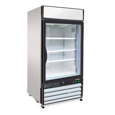 X-Series 12 cu. ft. Single Door Commercial Upright Merchandiser Freezer in White