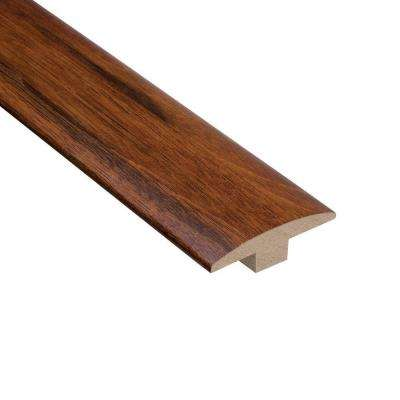 Manchurian Walnut 3/8 in. Thick x 2 in. Wide x 78 in. Length Hardwood T-Molding