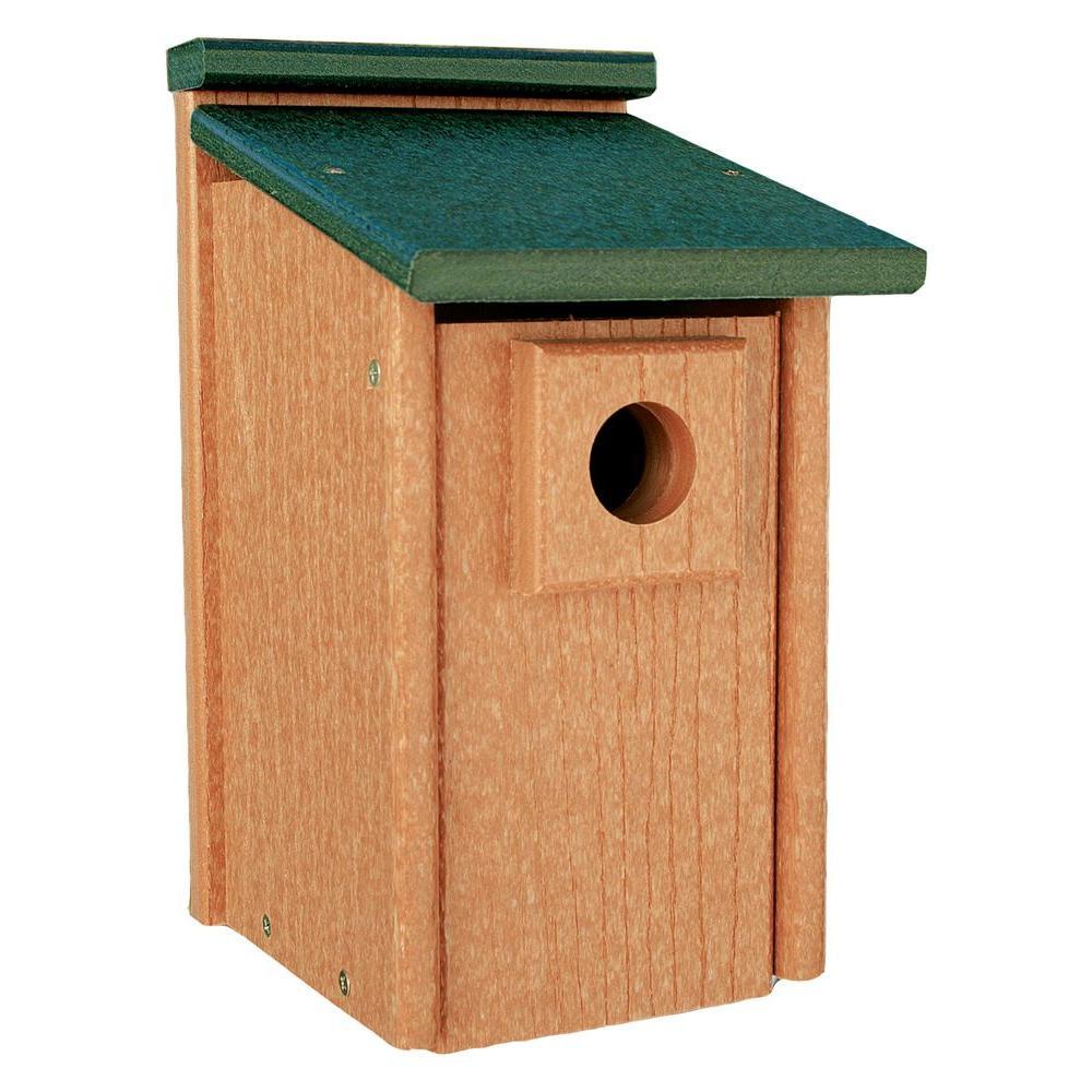Going Green Bluebird Bird House, Brown