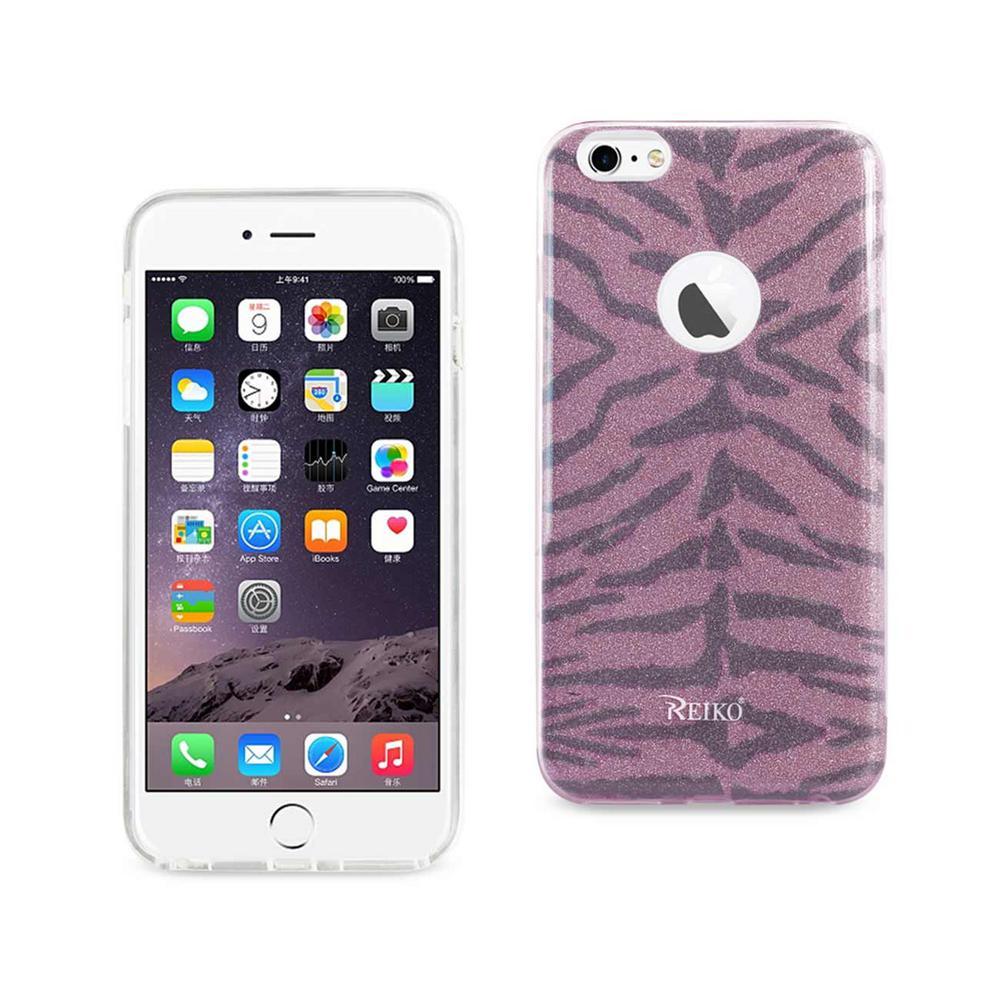 REIKO iPhone 6 Plus/6S Plus Design Case in Tiger Hot Pink
