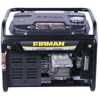 1200-Watt Gas Powered Portable Generator 4-Stroke Single-Cylinder Air-Cooled with Recoil Start