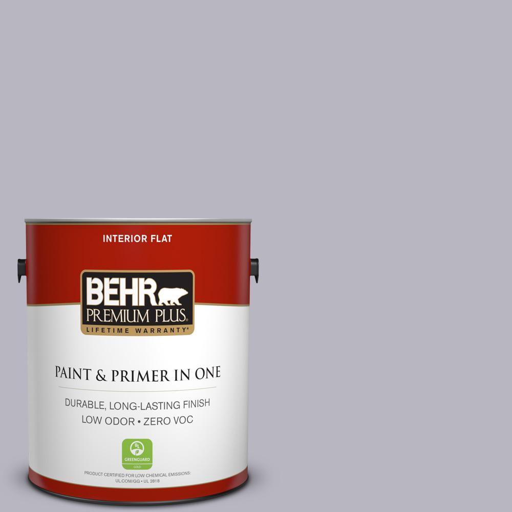 BEHR Premium Plus 1-gal. #N550-3 Best in Show Flat Interior Paint