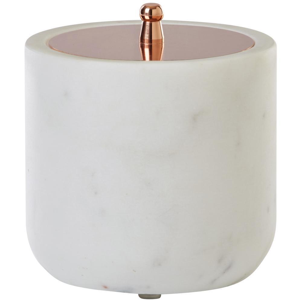 Larissa Cotton Jar in White