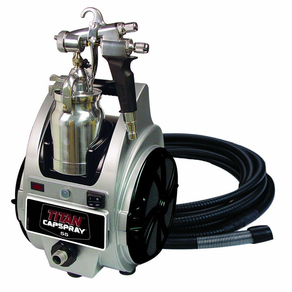 TITAN Capspray 55 Fine-Finish HVLP Paint Sprayer-DISCONTINUED