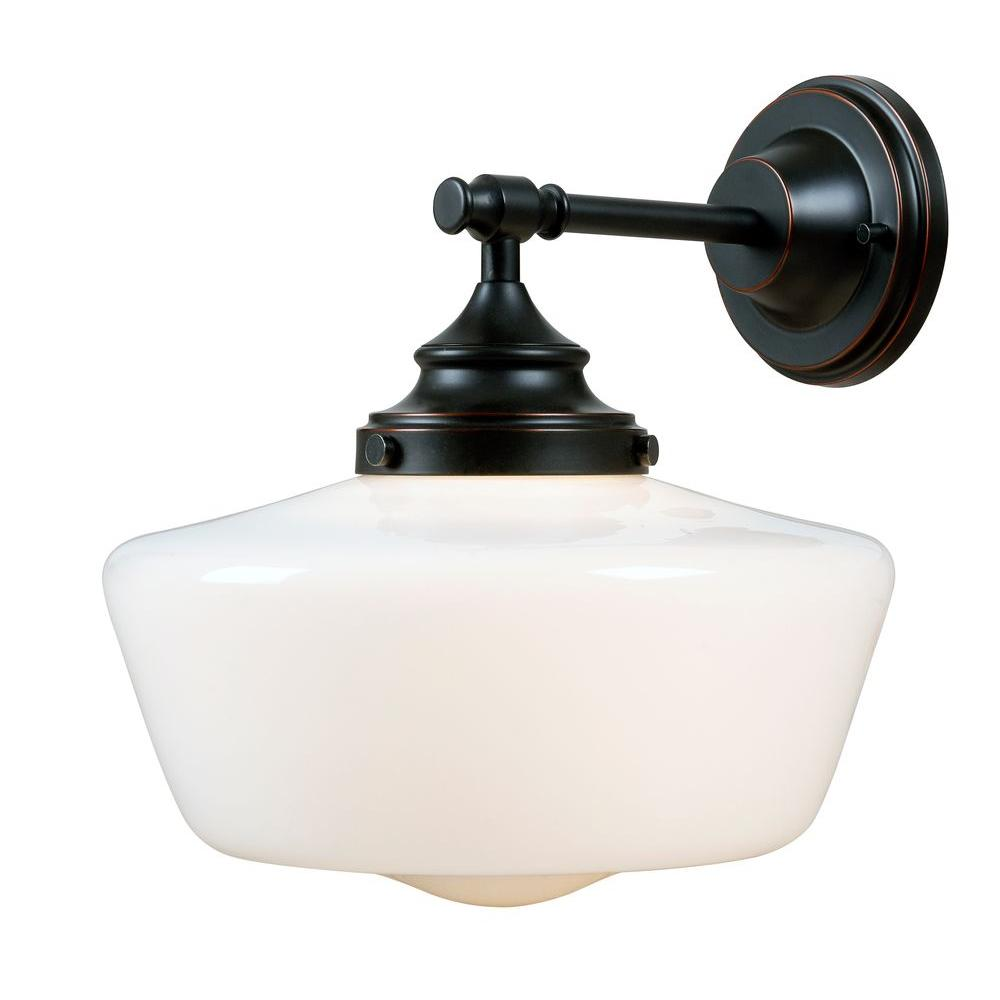 Cambridge 1-Light Bronze Sconce