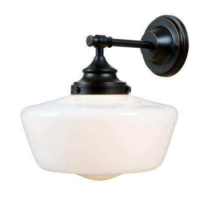 new style 49cdb b8c82 Cambridge 1-Light Bronze Sconce