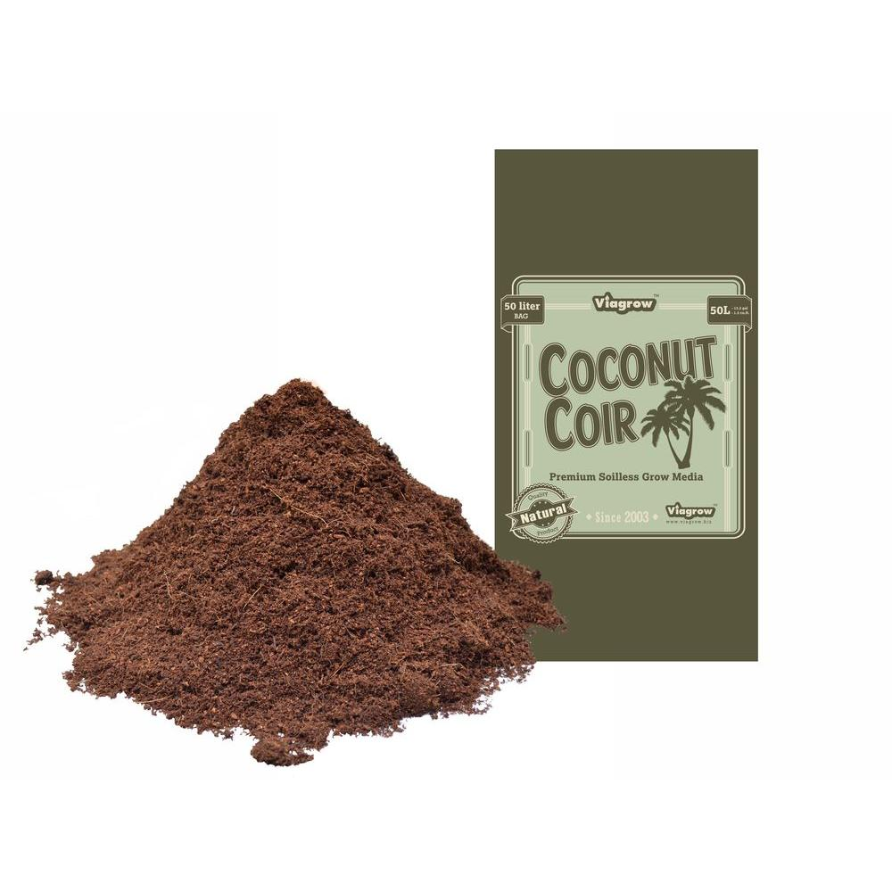 1.5 cu. ft. Coco Coir Fluffed Coconut Pith Fiber Soilless Grow