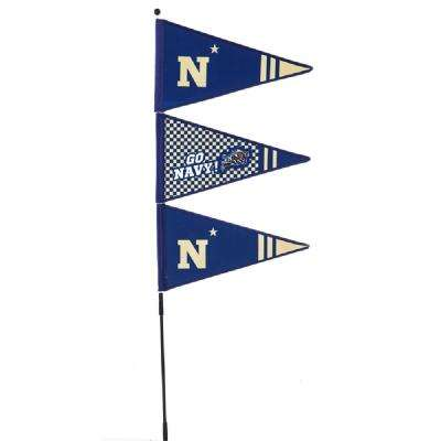1-1/5 ft. x 4-3/5 ft. US Naval Academy Pennant Spinner
