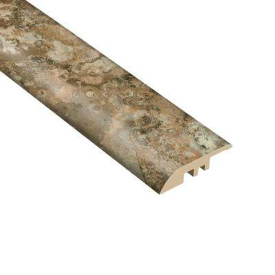 Willow Crest 7/16 in. Thick x 1-5/16 in. Wide x 94 in. Length Vinyl Multi-Purpose Reducer Molding