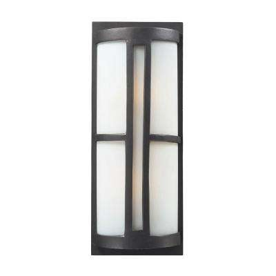 Trevot 2-Light Graphite Outdoor Sconce