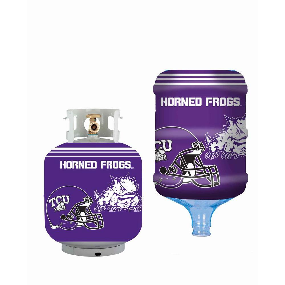 Bottle Skinz TCU Horned Frogs Propane Tank Cover5 Gal
