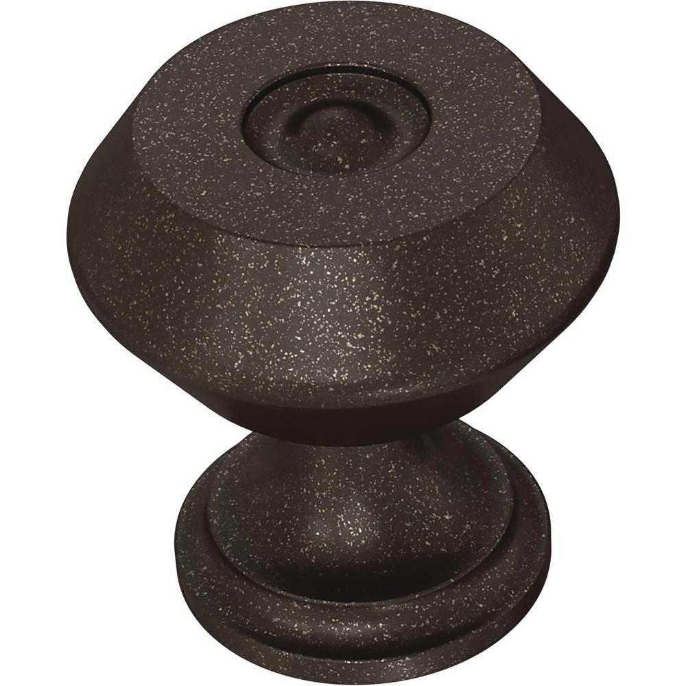 Refined Farmhouse 1-3/16 in. (30 mm) Cocoa Bronze Cabinet Knob