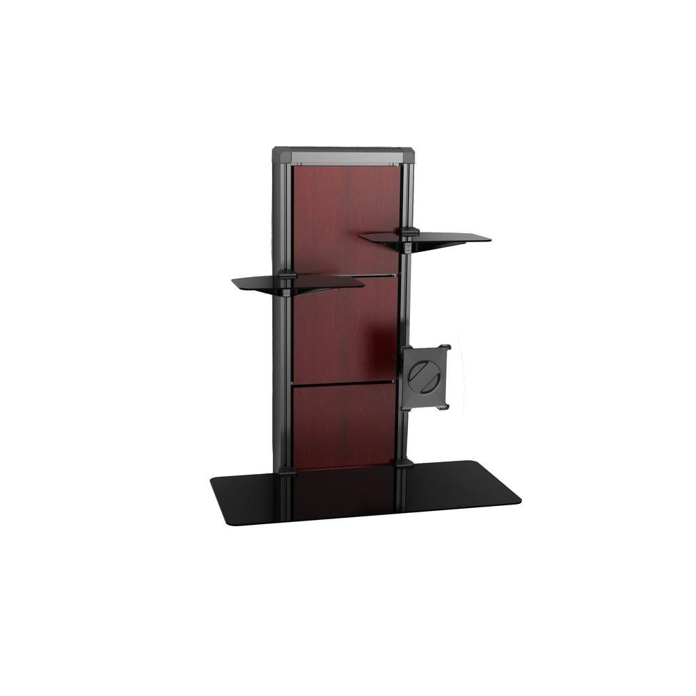 Atlantic EVO Wall Mount Desk in Cherry and Walnut-DISCONTINUED