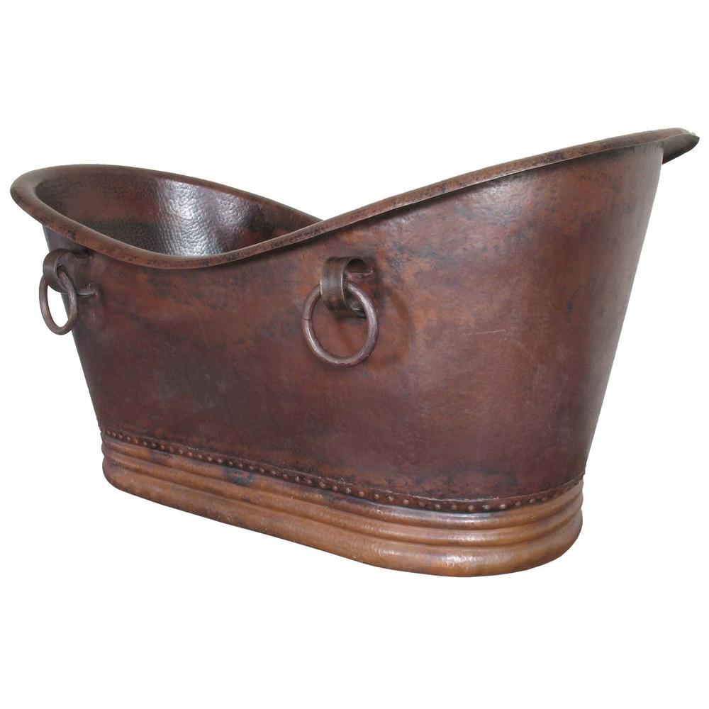 a inch freestanding products love copp bathtub nickel of bateau norminda antique copper interior