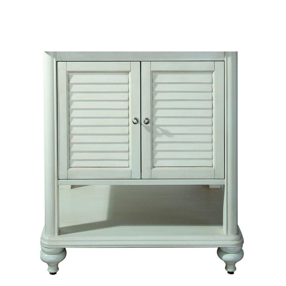 Avanity Tropica Vanity Cabinet Only Antique White