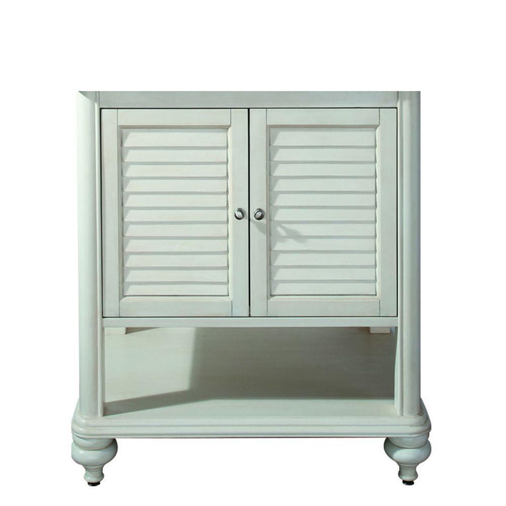 Avanity Tropica 30 in. W x 21 in. D x 34 in. H Vanity Cabinet Only ...