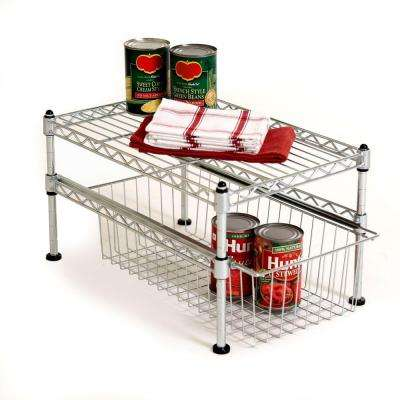 11-1/2 in. x 17-1/2 in. x 10 in. Single Basket Organizer