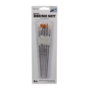 Artist Paint Brush Set (5-Piece)