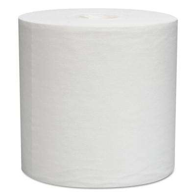 (9) 4/5 in. x (15) 1/5 in. L30 Wipes, Center-Pull Roll in White (300-Count)