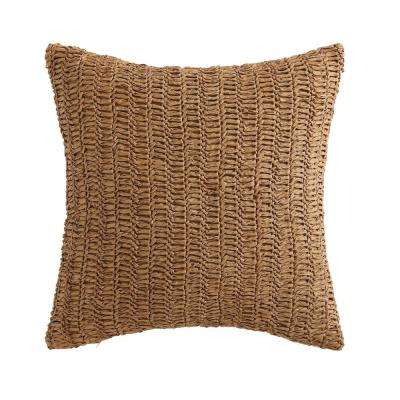 Coco Paradise Raffia Decorative Pillow