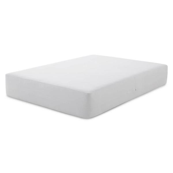 Brookside Tencel Jersey Polyester Fabric Encasement Twin Mattress Protector BSTJTTEP