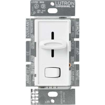 Skylark 600-Watt Single-Pole Dimmer - White