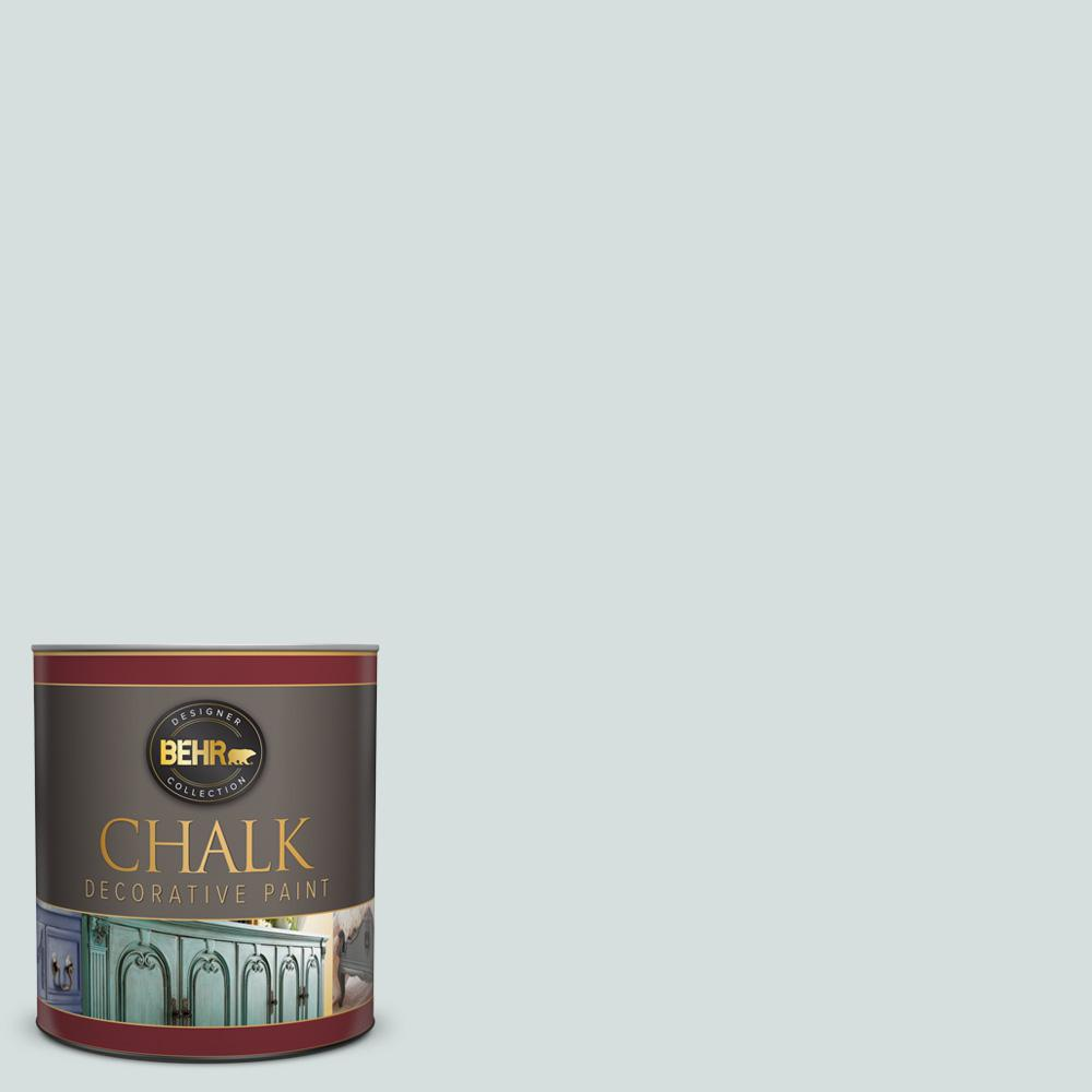 BEHR 1-qt. #BCP32 Antique Blue Interior Chalk Finish Paint