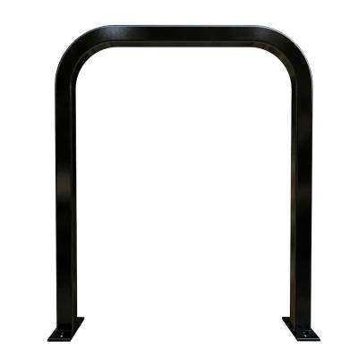 Action Staple Rack Black Powder Coated Surface Mount 2-Bike Rack