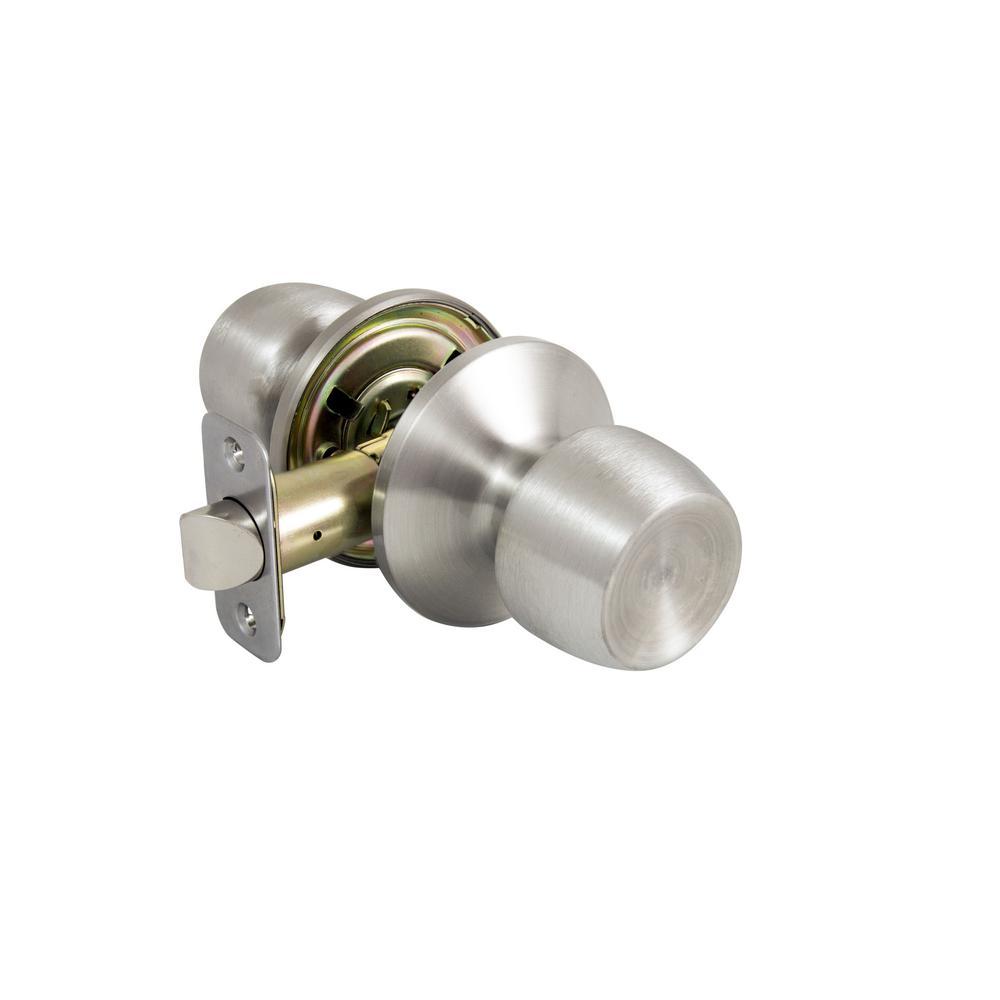 Stainless Steel - Door Knobs - Door Hardware - The Home Depot