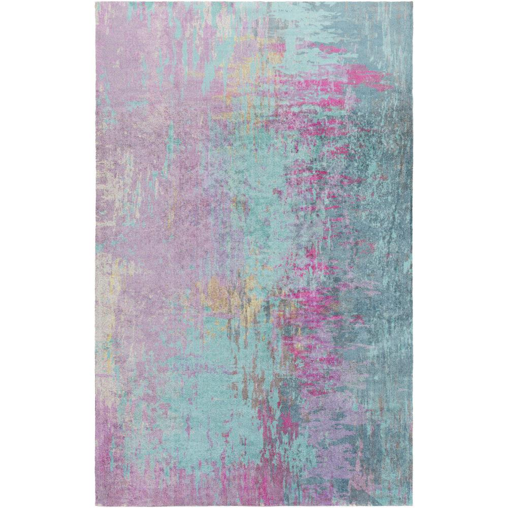 Watercolor Purple Area Rugs Rugs The Home Depot