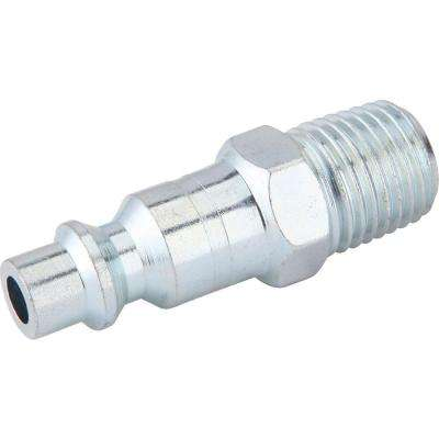 Zinc 1/4 in. x 1/4 in. Male to Male Industrial Plug