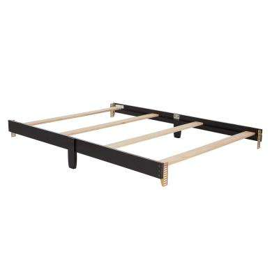 Universal Black Full Size Bed Rail (1-Pack)