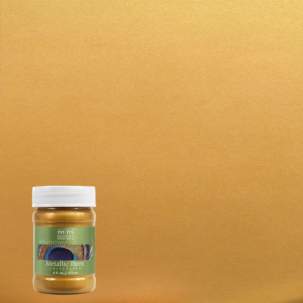 6 oz. Pharaoh's Gold Metallic Interior/Exterior Paint