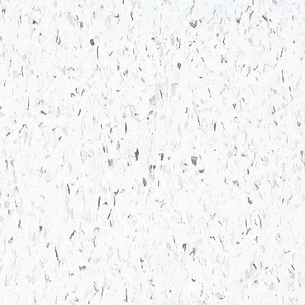 White floral decorative vinyl samples vinyl flooring take home sample standard excelon imperial texture classic white vinyl composition commercial tiles dailygadgetfo Images