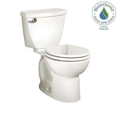 Cadet 3 Tall Height Complete 2-Piece 1.28 GPF Single Flush Round Toilet in White with Slow Close Seat