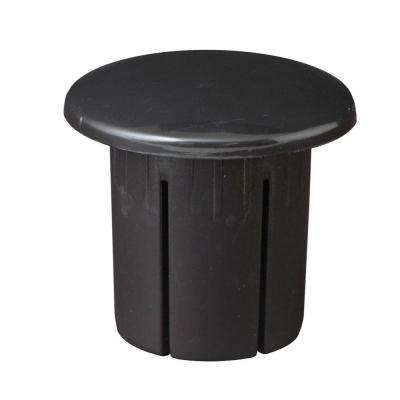 Black ADA Hand Rail End Cap