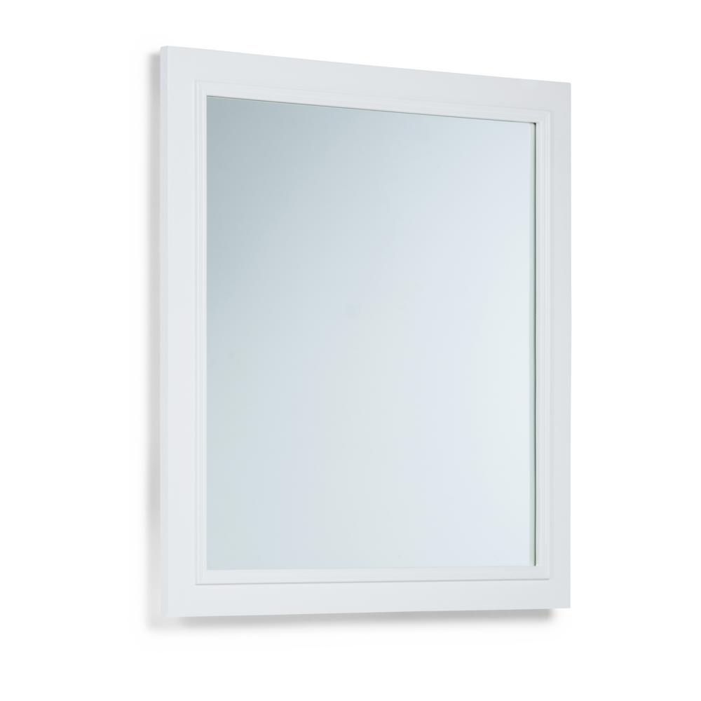 Simpli Home Cambridge 34 In L X 32 In W Wall Mounted Vanity Decor