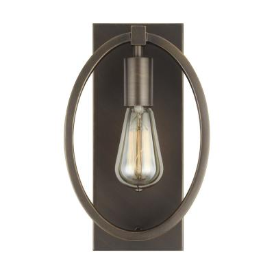 Marlena 1-Light Antique Bronze Sconce