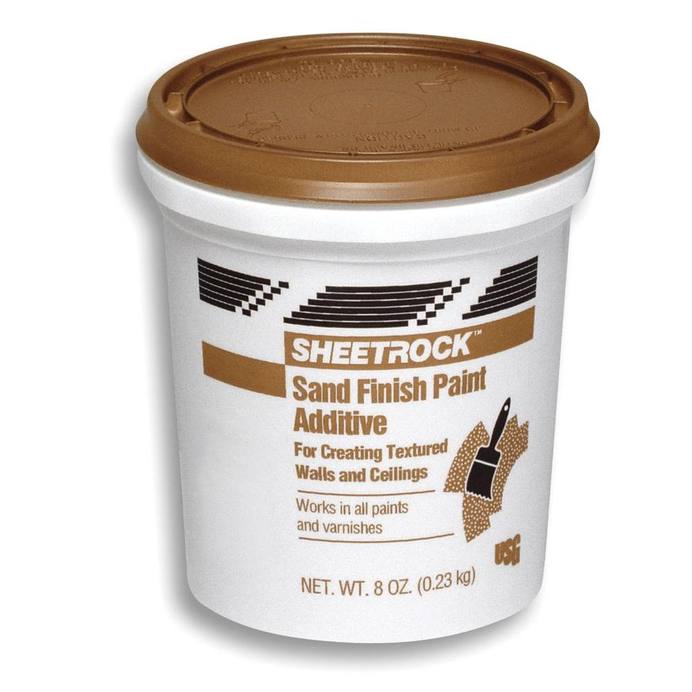 SHEETROCK Brand 8 oz Sand Finish Paint Additive 380301 The Home Depot